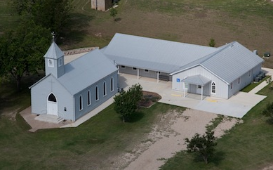 arial photo of St. Paul Lutheran Church
