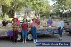image of 2007 Gillespie County Fair float